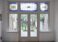 Haagweg: kozijn glas in lood